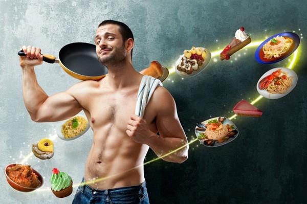Thực phẩm tăng cường bản lĩnh phái mạnh.